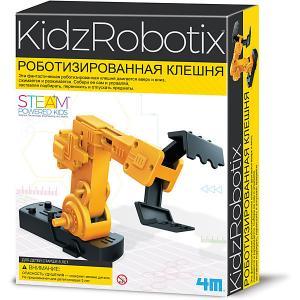 Набор для робототехники  Роботизированная клешня 4M