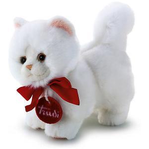 Мягкая игрушка  Кошечка, 15 см Trudi. Цвет: белый