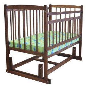 Детская кроватка  Беби 4 Разборная поперечный маятник Массив