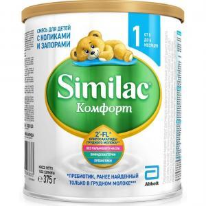 Молочная смесь  Comfort 1 с рождения, 375 г Similac
