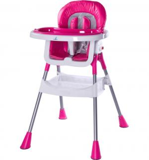 Стульчик для кормления  Pop, цвет: ярко-розовый Caretero