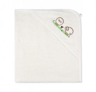 Пеленка-полотенце махровая На лугу 95х95 см Лео