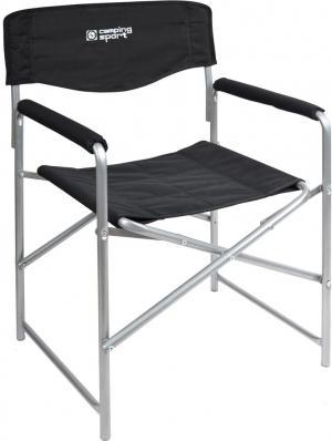 Кресло складное Привал, цвет: черный Ника