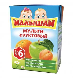 Сок , мультифрукт 200 мл, 1 шт ФрутоНяня Малышам