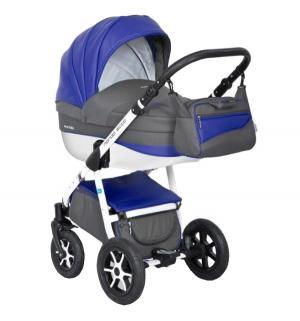 Коляска 2 в 1  Mondo Eco, цвет: серый/синий Expander