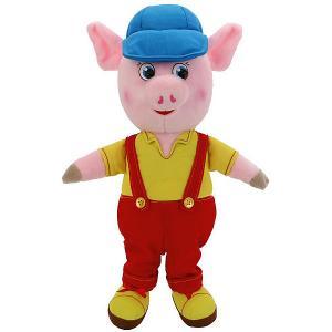 Мягкая игрушка Мульти-пульти Поросенок в комбинезоне и кепке