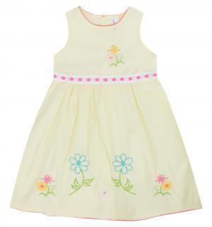 Платье , цвет: желтый Малинка