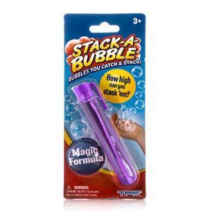 Застывающие мыльные пузыри  фиолетовые, 22 мл Stack-A-Bubble