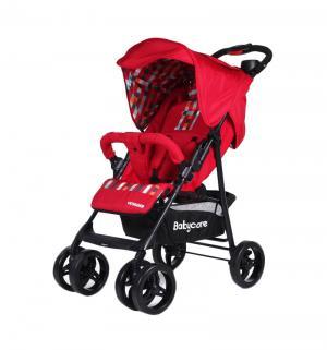 Прогулочная коляска BabyCare Voyager, цвет: red 17 Baby Care