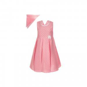 Платье  для девочки M&D. Цвет: розовый