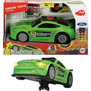 Машинка  Рейсинговый автомобиль Ford Mustang, 25,5 см, свет и звук Dickie Toys