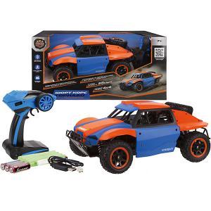 Машина  Шорт корс: Торнадо, сине-оранжевая Пламенный мотор. Цвет: разноцветный