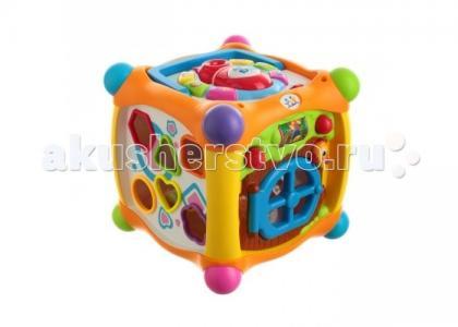 Игровой центр для малышей Куб со световыми и звуковыми эффектами Huile Toys