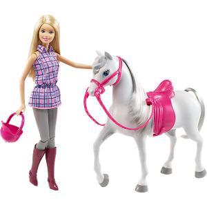 Набор с куклой Barbie Барби и лошадь Mattel