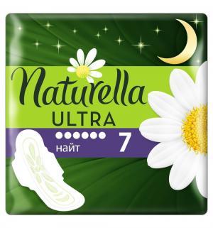 Прокладки  Ultra night, 7 шт Naturella