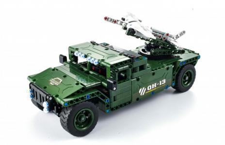 Радиоуправляемый Транспортный тягач для дронов (506 элементов) QiHui