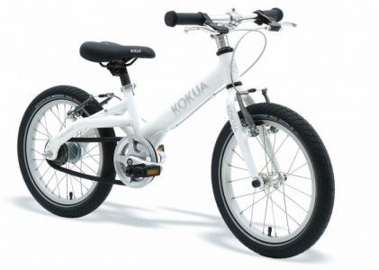 Велосипед двухколесный  LikeToBike 16 sram Automatix два ручных тормоза Kokua
