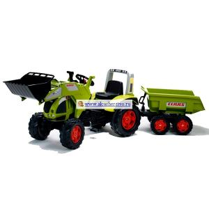 Трактор с ковшом и прицепом 991P Falk