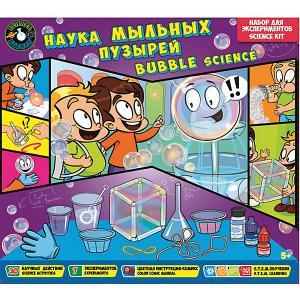 Набор для экспериментов Science agents Наука мыльных пузырей Toys Lab. Цвет: разноцветный