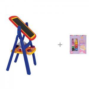 Grown up Двухсторонний мольберт с комплектом для рисования Девочки 6-0217 Grow'n