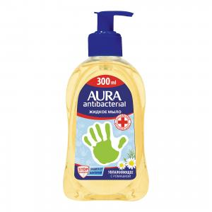 Жидкое мыло AURA Деликатное с ромашкой, 300 мл