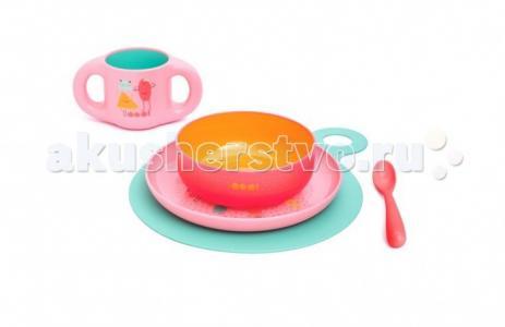 Набор посуды Bооо (5 предметов) от 6 мес. Suavinex