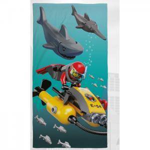 Полотенце city shark 70х140 Lego
