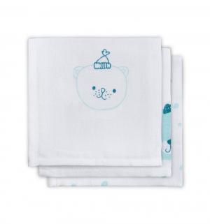 Комплект полотенце 3 шт , цвет: зеленый Jollein