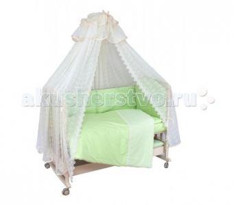 Комплект в кроватку  Кружева (7 предметов) Мой Ангелок