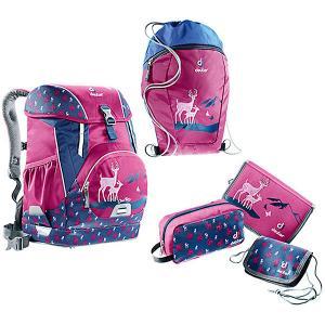 Рюкзак  OneTwo Пурпурный олень, 5 предметов Deuter