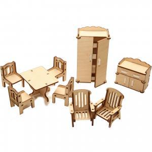 Деревянный набор мебели ХэппиДом Зал Happykon
