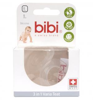 Соска  вишня силикон, для новорожденных Bibi