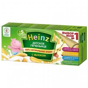 Печенье  с яблоком яблоко, 160 г Heinz