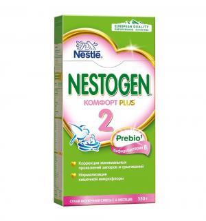 Молочная смесь  Комфорт Plus 2 с пребиотиками 6 месяцев, 350 г Nestogen