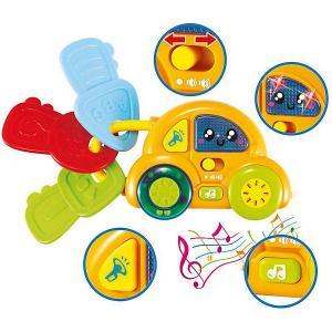 Игрушка  Мои первые музыкальные ключи-машина Bebelino. Цвет: разноцветный