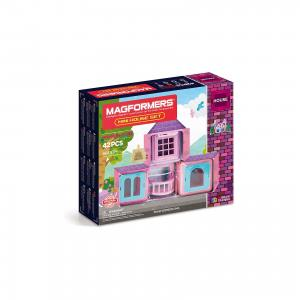 Магнитный конструктор  Mini House Set 42 MAGFORMERS