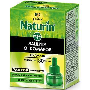 Naturin Жидкость от комаров без запаха, 30 ночей (24) Gardex