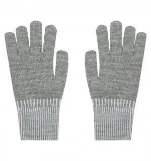 Перчатки , цвет: серый Чудо-кроха