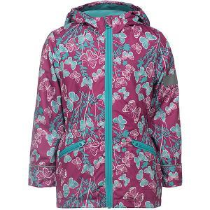Куртка Флавия JICCO BY OLDOS для девочки. Цвет: розовый