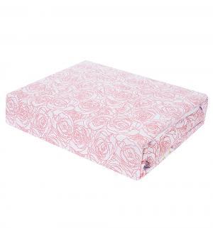 Комплект постельного белья  нав. 70х70 см, цвет: розовый Василиса