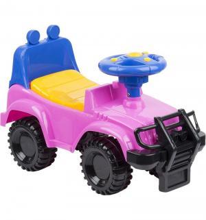 Каталка детская  Джип, цвет: розовый Kids Rider