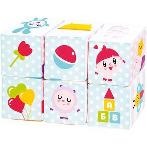 Мягкие кубики  Малышарики Мультики Мякиши. Цвет: разноцветный