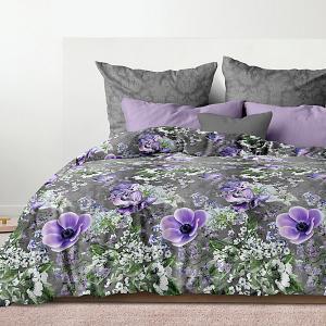 Комплект постельного белья  Вдохновение, евро Унисон. Цвет: разноцветный