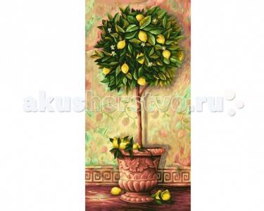 Картина по номерам Лимонное дерево 40х80 см Schipper