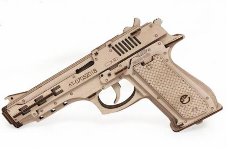 Пистолет-резинкострел с мишенями (81 деталь) Lemmo