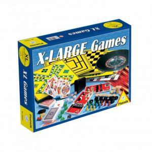 Игровой набор XL 200 игр + шахматы рулетка Piatnik