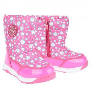 Сапоги , цвет: розовый Bi&Ki