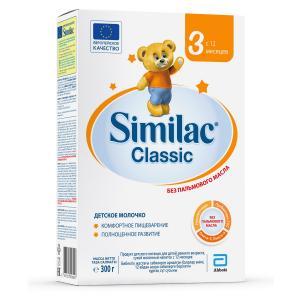 Детское молочко  Classic 3 с 12 месяцев, 300 г Similac