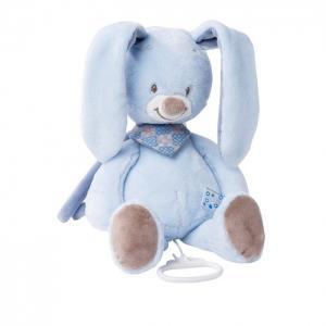 Мягкая игрушка  Musical Soft toy Alex & Bibiou Кролик музыкальная 35 см Nattou