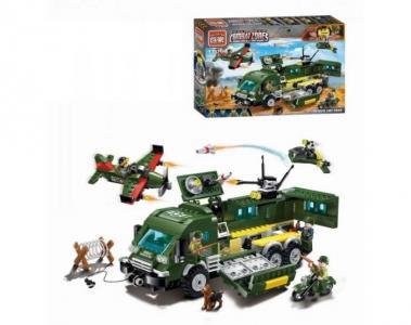 Военная база Combat Zone (446 деталей) Enlighten Brick